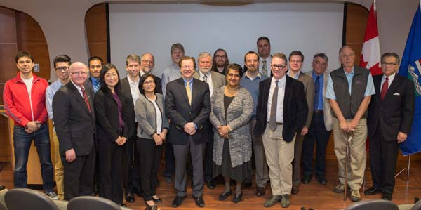 GlycoNet members and partners, April 2015