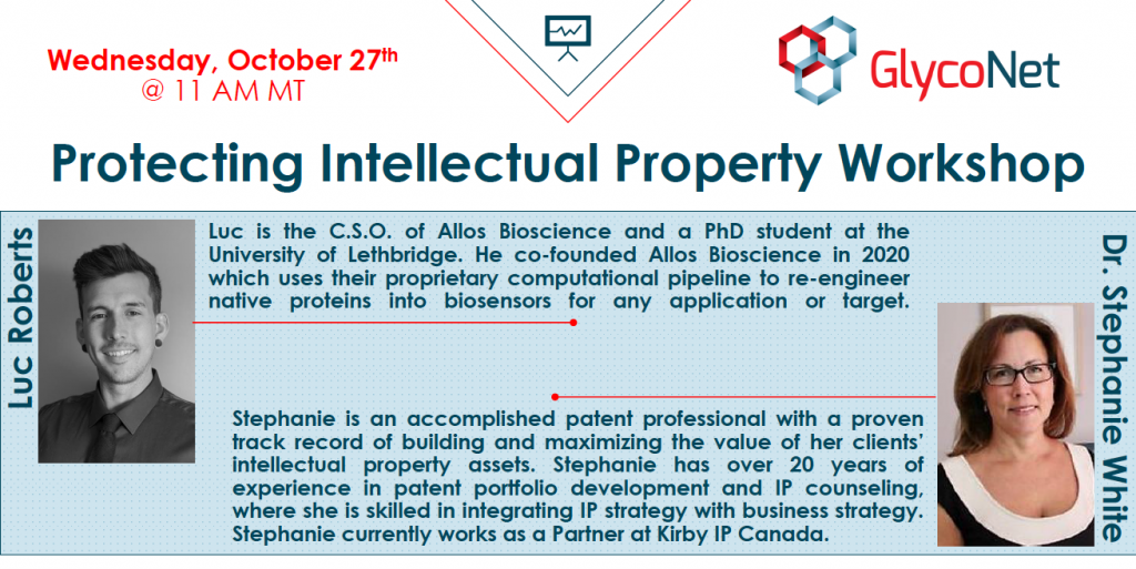 GlycoNet Protecting Intellectual Property Workshop